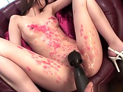 Asian Slut Sucking On Cocks And She Loves The Freakiness