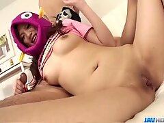 Wild porn experience along needy?  Shirosaki Karin?