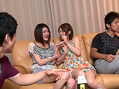 Private party with Haruka Sasano and Hinata Hyuga