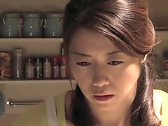 Horny Japanese chick in Incredible HD, Threesome JAV clip