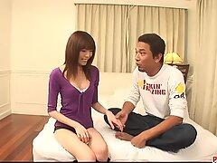 Ibuki gets creampied in scenes of rough Japanese sex - More at Pissjp.com