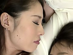 Best Japanese whore in Horny Lesbian JAV video