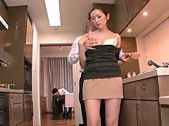 Exotic Japanese whore in Amazing Wife, HD JAV scene
