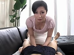 Amazing Japanese girl in Hottest Handjob, HD JAV clip
